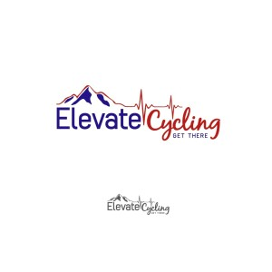 Elevate Cycling Logo Option 1B